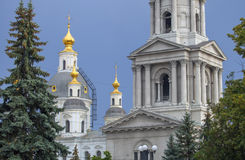 Cathedral of the Assumption in Kharkov. Stock Photos