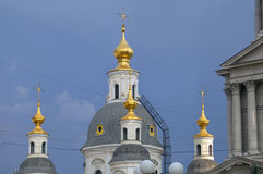 Cathedral of the Assumption in Kharkov. Stock Photo