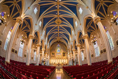 Cathedral of the Assumption in Louisville. Interior of the Cathedral of the Assumption on 5th Street in Louisville, Kentucky stock photography