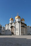 The Cathedral of the Assumption in Moscow Kremlin Stock Image