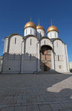 The Cathedral of the Assumption in Moscow Kremlin Royalty Free Stock Photography