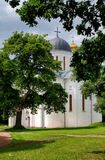 Cathedral of the Assumption in Chernigov Stock Photos