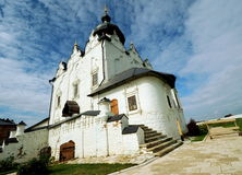 The Cathedral of the Assumption, small town of Sviyazhsk, Russia Stock Photography