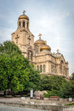 The Cathedral of the Assumption in Varna, Bulgaria. Also known a Royalty Free Stock Photography