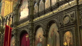 The Cathedral of the Assumption in Varna, Bulgaria. stock video footage