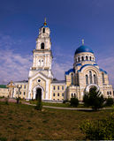 Cathedral. Of the Assumption in the village of Leo Tolstoy royalty free stock photo