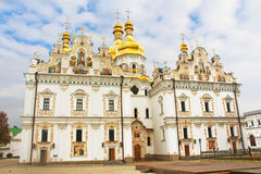 Cathedral the Assumption of Virgin, Kyiv, Ukraine Royalty Free Stock Images