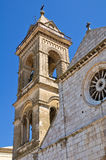 Cathedral of Assunta. Minervino Murge. Puglia. Italy. Stock Photos