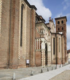 Cathedral of Asti, South side Stock Photo