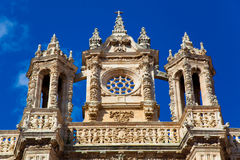 Cathedral of Astorga Royalty Free Stock Photos