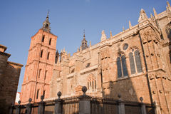 The Cathedral of Astorga Royalty Free Stock Photos