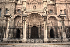The Cathedral of Astorga Stock Images