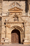 The Cathedral of Astorga Stock Image