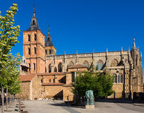 Cathedral of Astorga Royalty Free Stock Photography