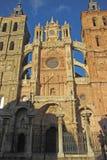 Cathedral of astorga Royalty Free Stock Photos