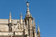 Cathedral of Astorga - Spain royalty free stock images