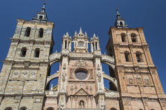 Cathedral of Astorga Spain Stock Images