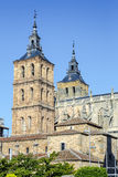 Cathedral of Astorga Spain Stock Image