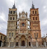 Cathedral of Astorga Spain Royalty Free Stock Photography