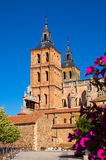 Cathedral of Astorga Stock Images