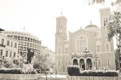 Cathedral in Athens, Greece Royalty Free Stock Images