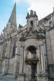Cathedral Autun, France, Burgundy Stock Photo