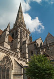 Cathedral Autun, France, Burgundy Stock Photography