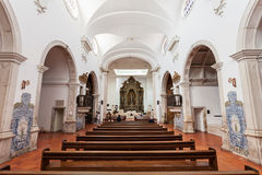 Cathedral of Aveiro Stock Images