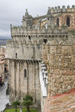The cathedral of Avila. Royalty Free Stock Images