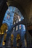 Cathedral of Avila, Avila, Castilla y Leon, Spain stock images