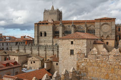 Cathedral of Avila Royalty Free Stock Photography