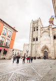 Cathedral of Avila Royalty Free Stock Photo