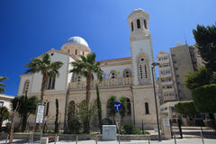 Cathedral of Ayia Napa in Limassol, Cyprus. Royalty Free Stock Image