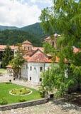 Cathedral Bachkovski monastery in Bulgaria stock photo