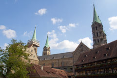 Cathedral of Bamberg Royalty Free Stock Photos