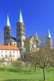 Cathedral of Bamberg Germany Royalty Free Stock Photography