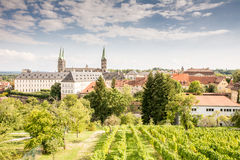 Cathedral of Bamberg Stock Image