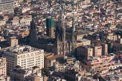 Cathedral of Barcelona Royalty Free Stock Images