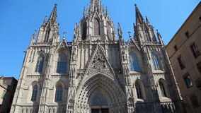 Cathedral in Barcelona, Catalonia, Spain Stock Photo
