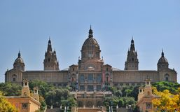 MNAC Museum in Barcelona, Spain Stock Photography