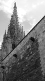 Cathedral Barcelona Stock Photography