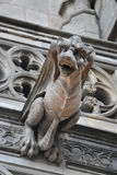 Cathedral of Barcelona, gargoyle close up Stock Photography