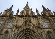 Cathedral in Barcelona Stock Photo