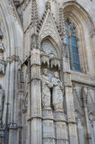 Cathedral of Barcelona Stock Images