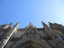 Cathedral of Barcelona Royalty Free Stock Photography
