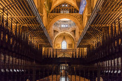 Cathedral of Barcelona Spain Royalty Free Stock Photo