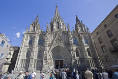 Cathedral of Barcelona, Spain Royalty Free Stock Image