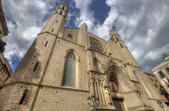 Cathedral of Barcelona, Spain Royalty Free Stock Photo
