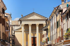 Cathedral in Bardolino Royalty Free Stock Images