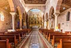 Cathedral of Barichara Santander Colombia. Cathedral of  Barichara Santander in Colombia South America Stock Photos